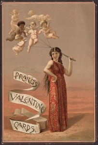 Valentine Card Vintage Old