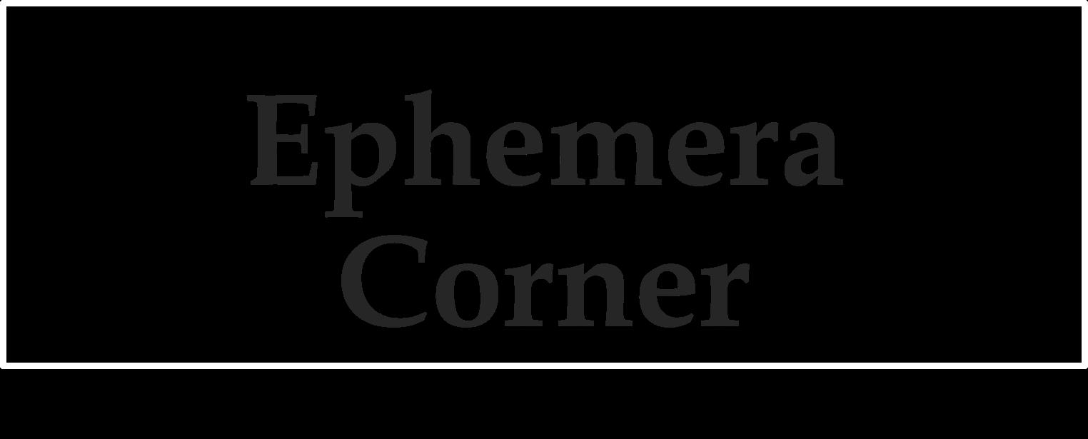 Ephemera Corner Logo