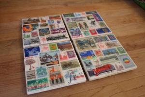 Postage Stamp Coasters Craft