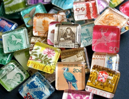 8 Unique Crafts Using Postage Stamps